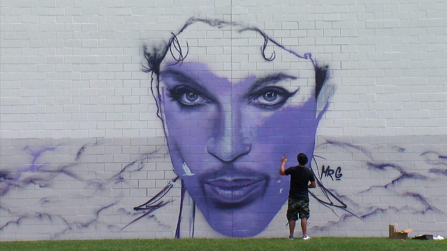 Prince Chanhassen Mural by Mr. G
