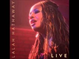 Lalah Hathaway Live Album Cover