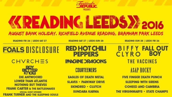 Reading Music Fest Flyer 2016