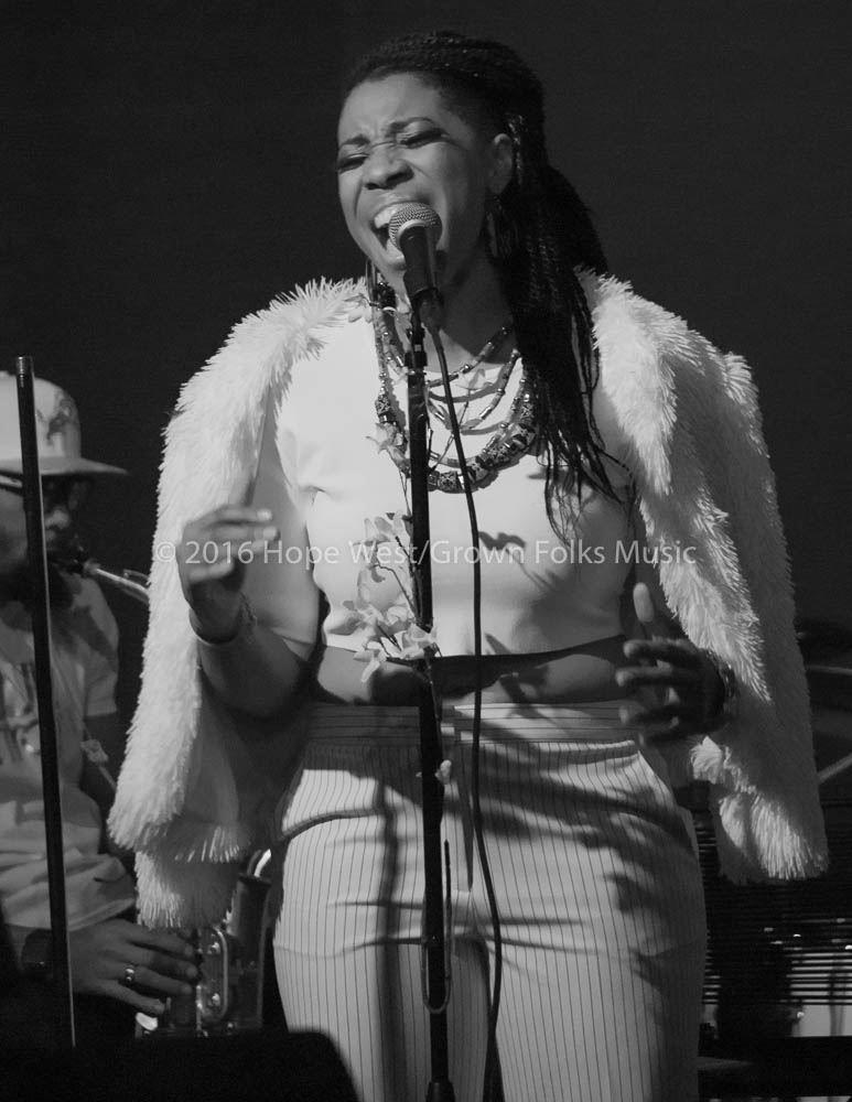 Carmen Rodgers performing live in Atlanta