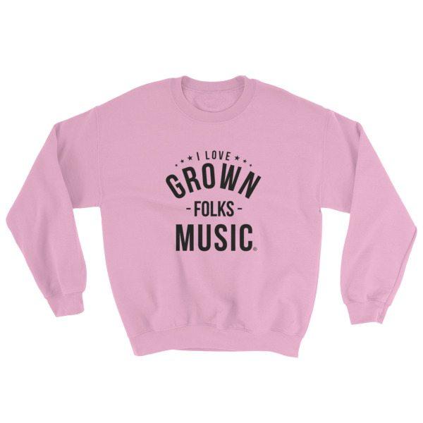 I love GFM Sweatshirt - Pink