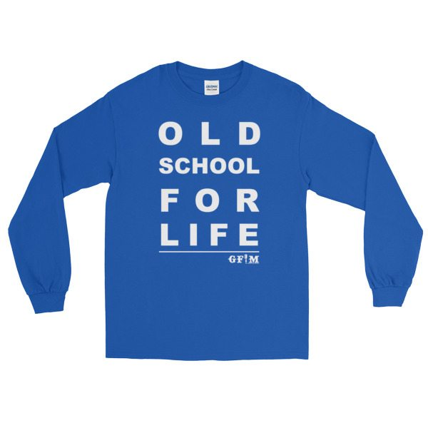 GFM old school for life - blue