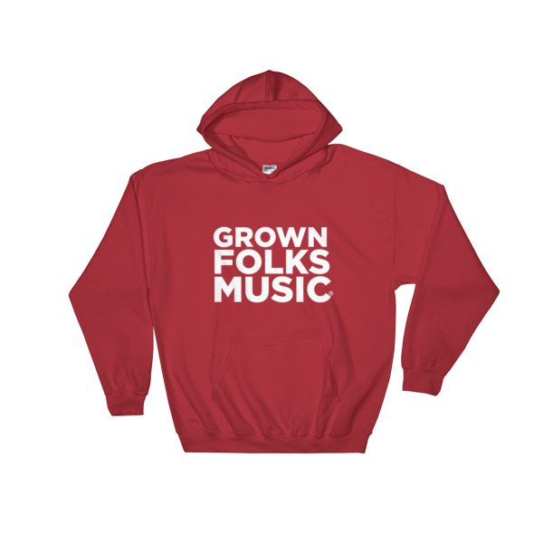 GFM Classic hooded sweatshirt - red