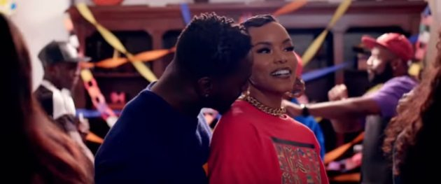 LeToya Luckett In The Name Of Love Video Still