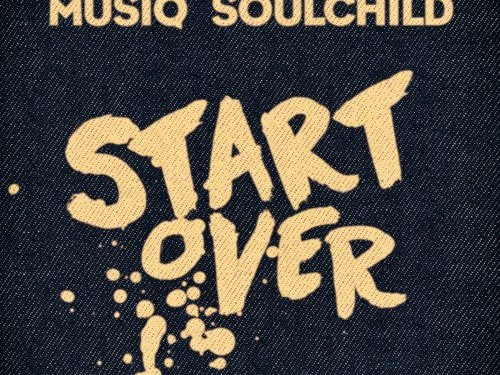 Musiq Soulchild Start Over Single Cover