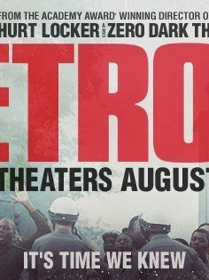 Poster for the motion picture, Detroit