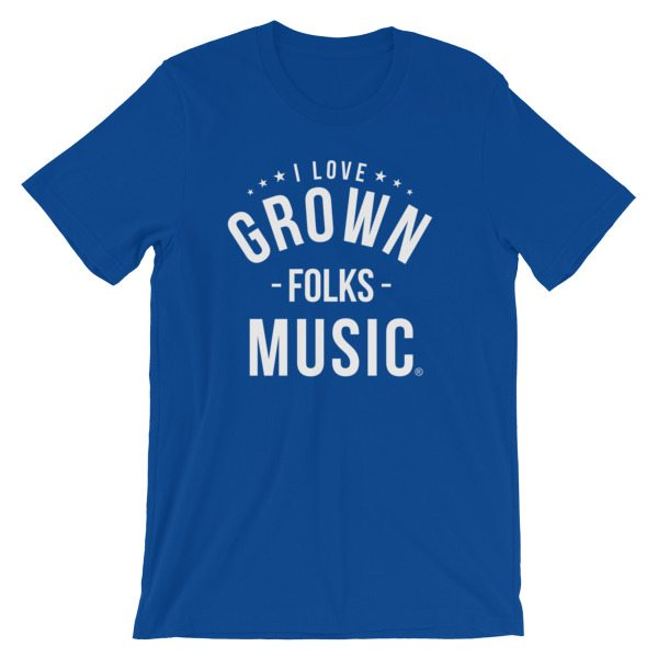I love GFM T-shirt - Bl;ue