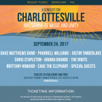 A Concert For Charlottesville, Virginia
