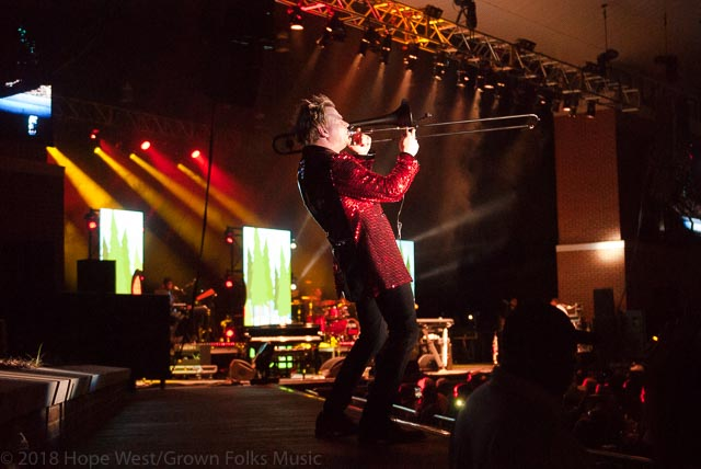 "Brian Culbertson performing on the ""Colors Of Love"" Tour in Atlanta"