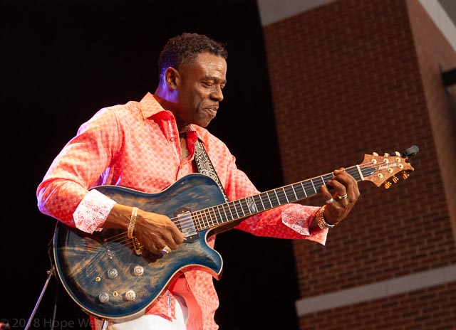 "Norman Brown performing on the ""Colors Of Love"" Tour in Atlanta"