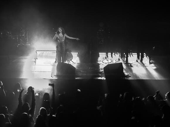 Tori Kelly performing at The Tabernacle in Atlanta