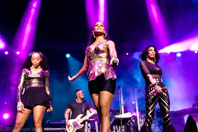 En Vogue performing on stage at the State Farm Arena for the