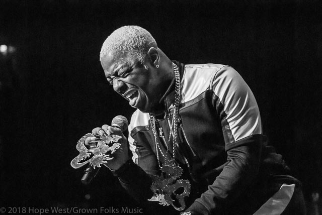 Sisqo of Dru Hill performing on stage at the State Farm Arena for the