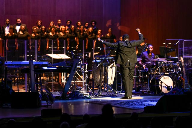 Clark Atlanta University Choir at Jazz 91.9 45th Anniversary Benefit Concert