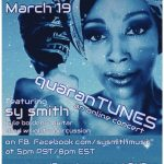 quaranTUNES: Sy Smith online concert, this Thursday March 19!