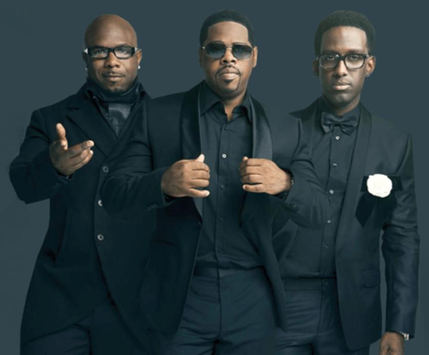 Photo of music group, Boyz II Men