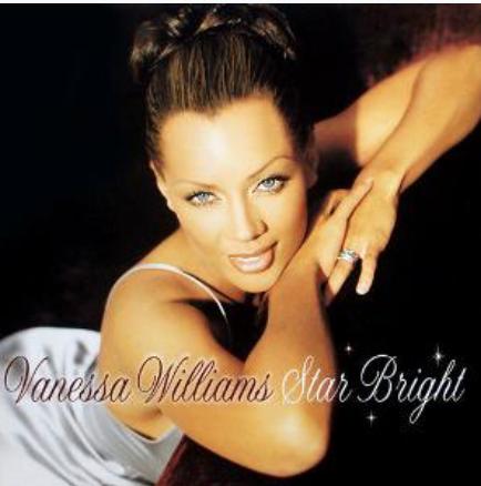 Cover album photo of Vanessa Williams' Christmas album, Star Bright