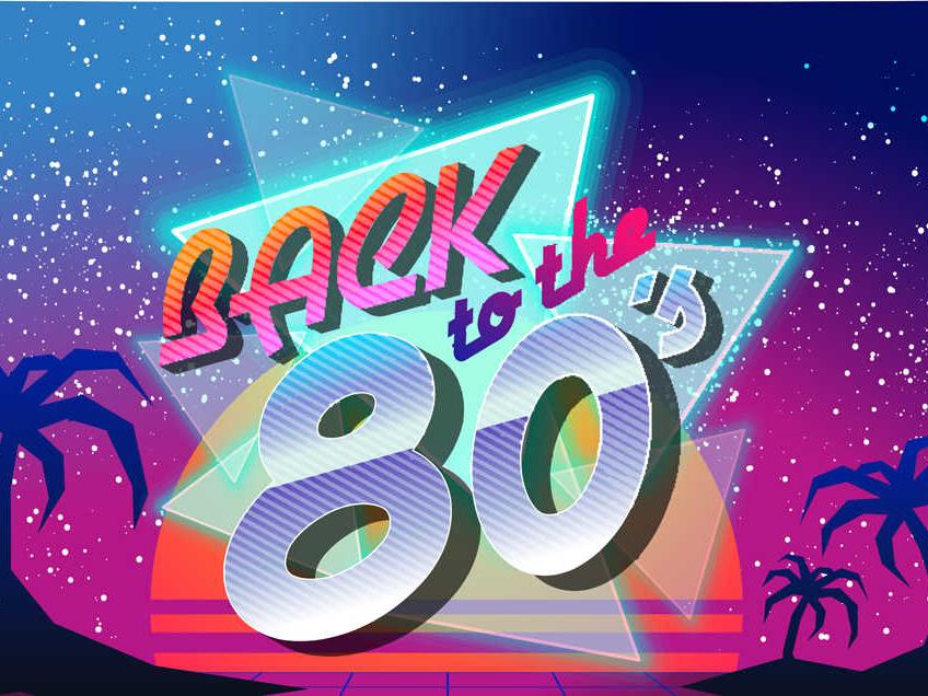 '80s Pop Background