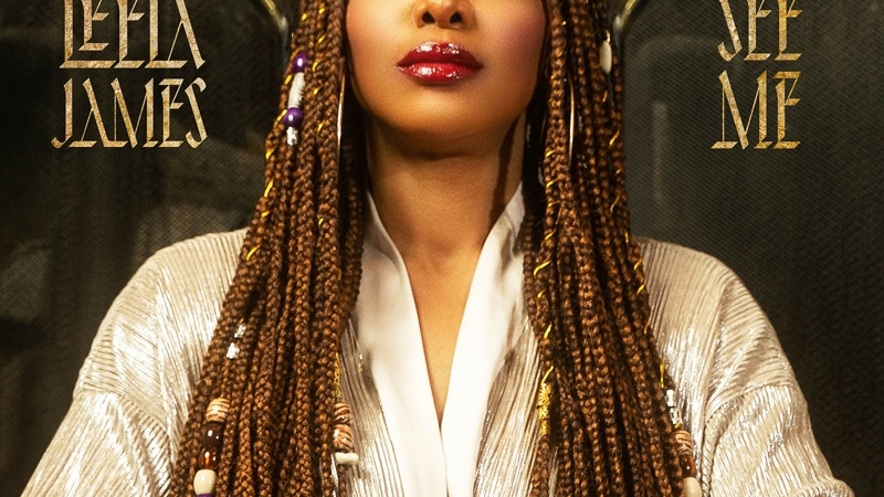 Leela James See Me Album Cover