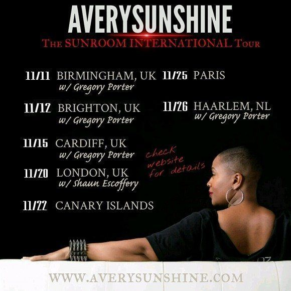 Avery*Sunshine – The SUNROOM INTERNATIONAL Tour