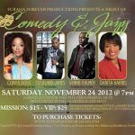 Events: Conya Doss Performing At Comedy & Jazz: A Benefit For Families and Children
