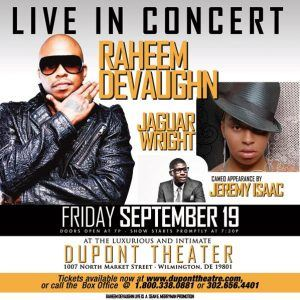 An Intimate Evening with Raheem DeVaughn
