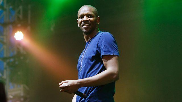 Rapper Giggs at the Reading Festival 2016/Photo Credit: BBC