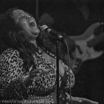 Maysa of Incognito performing onstage during their Atlanta show.