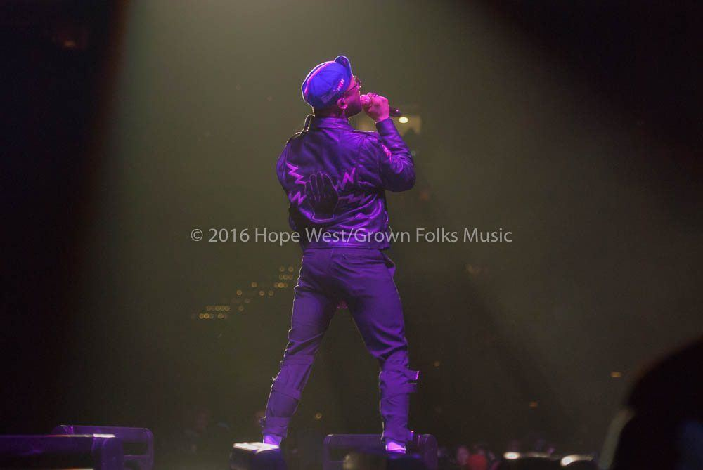 Ro James opening at the Philips Arena