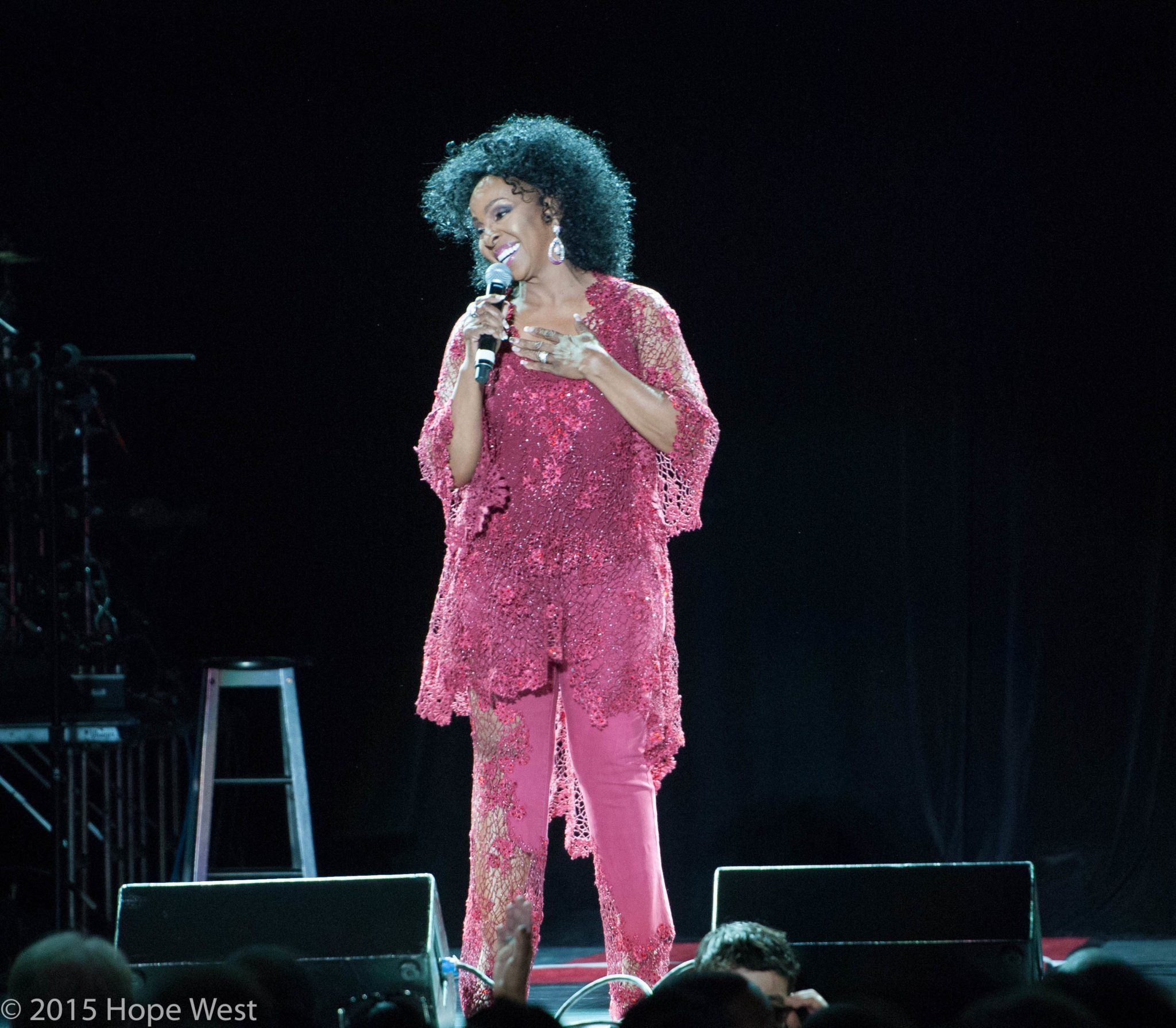 Gladys Knight in Atlanta 8/25/15