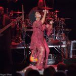 Gladys Knight performing onstage at Chastain Park