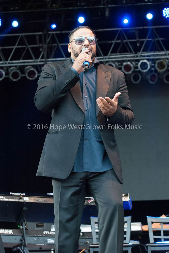 Al. B Sure performing at Wolf Creek