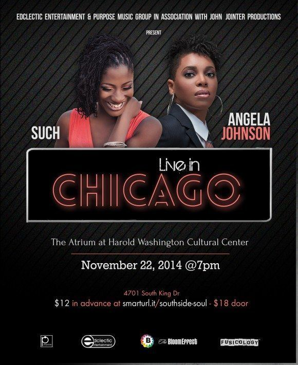 SuCh and Angela Johnson Live in Chicago at The Atrium Theater