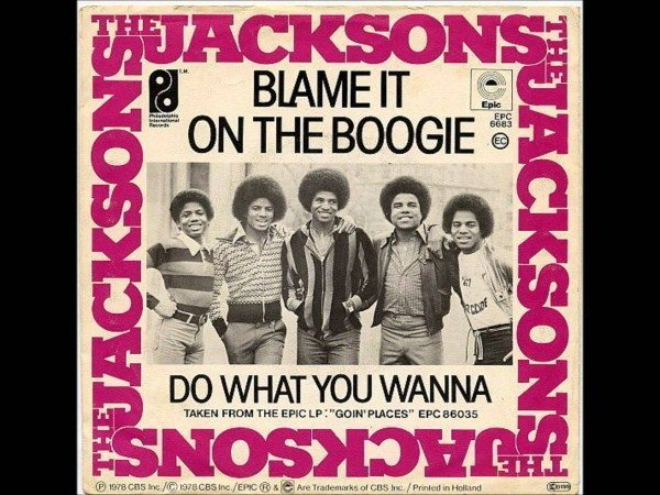 The Jacksons Blame It On The Boogie