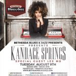 #Live: Kandace Springs w/ Special Guest Lee Mo – Bethesda Blues & Jazz August 9, 2016