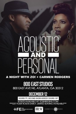 Zo! and Carmen Rodgers
